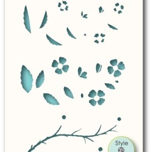 Orchard Branch Stencil