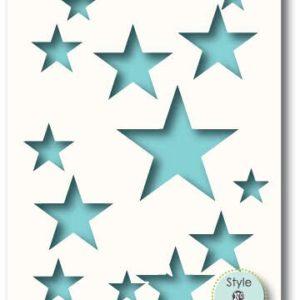 Star Show Stencil