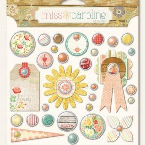 Miss Caroline - Like Decorative Brads