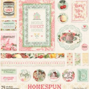 Printed Chipboard - Homespun