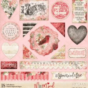 Printed Chipboard - In the Mood