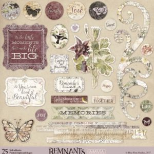 Printed Chipboard - Remnants