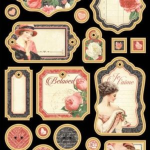 Mon Amour Chipboard Die-Cuts 1