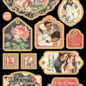 Mon Amour Chipboard Die-Cuts 2