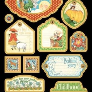 Mother Goose Chipboard Die-Cuts 2