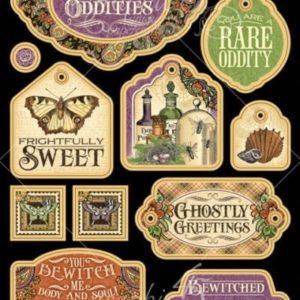 Rare Oddities Chipboard Die-Cuts 2