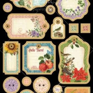 Time to Flourish Chipboard Die-Cuts 1
