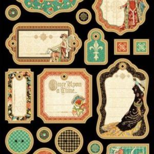 Enchanted Forest Chipboard Die-Cuts 1