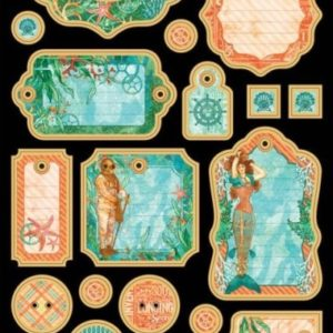 Voyage Beneath the Sea Chipboard Die-Cuts 1