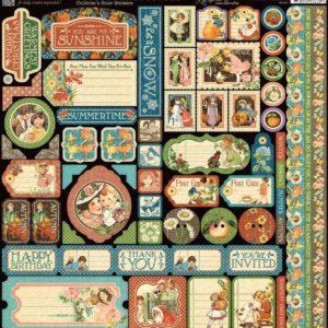 Children's Hour Cardstock Stickers