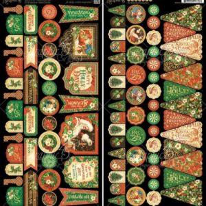 St. Nicholas Cardstock Die-Cuts - Banners