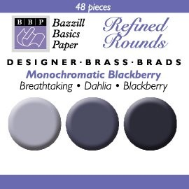 48 Bazzill-Brads Blackberry
