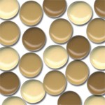 48 Bazzill-Brads Buttercup