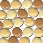 48 Bazzill-Brads Marigold