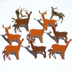 12 Deer Brads