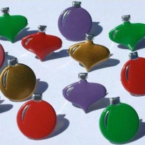 12 Ornament Brads