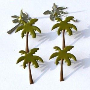 12 Palm Tree Brads