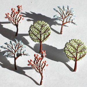 12 Tree Brads