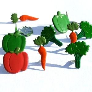 12 Vegetable Brads