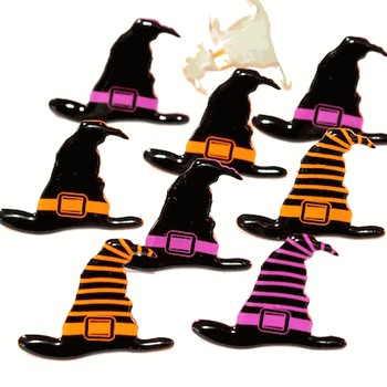 12 Witch Hat Brads