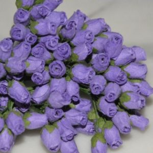 10 Rosebuds Purple