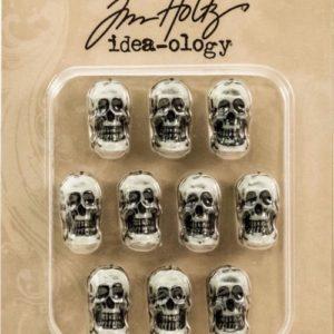 Idea-Ology - Resin Boneyard Skulls