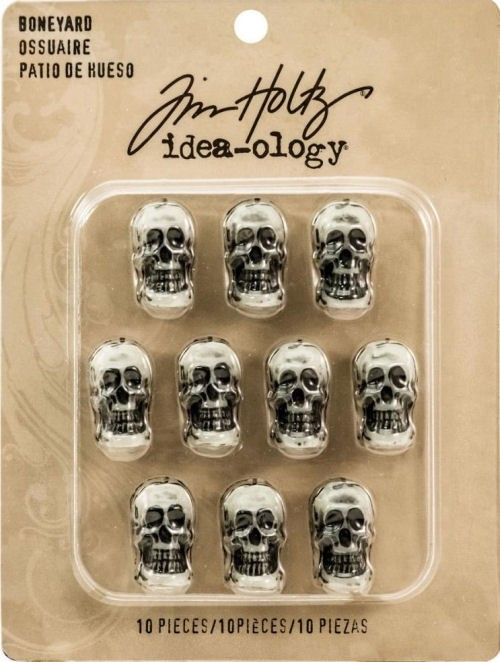 Idea-Ology - Resin Boneyard Skulls