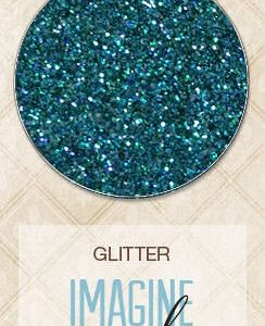 Bluefern Glitter - Peacock Feathers