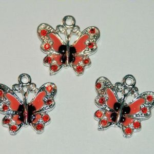 Butterfly Red - 3 Stk.