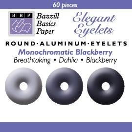 60 Bazzill-Eyelets Blackberry