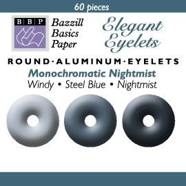 60 Bazzill-Eyelets Nightmist