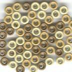 60 Bazzill-Eyelets Root Beer