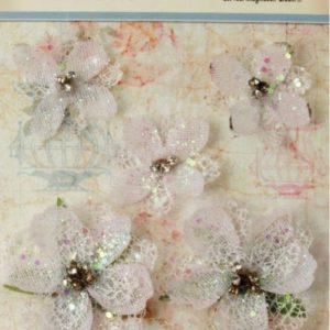 Jeweled - White