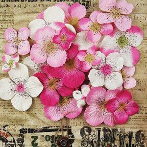 Painterly Petals Pink