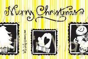 "Christmas Minis, 2x4"""
