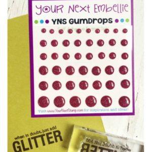 Glittered Gumdrops - Pink Lemonade