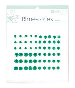 Rhinestones - Dark Green
