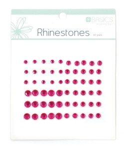 Rhinestones - Dark Pink