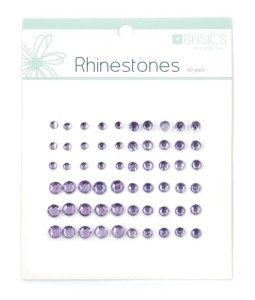 Rhinestones - Light Purple