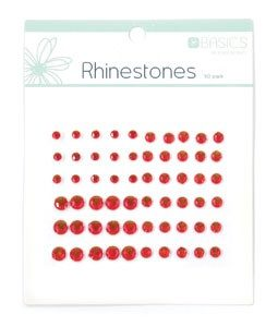 Rhinestones - Red