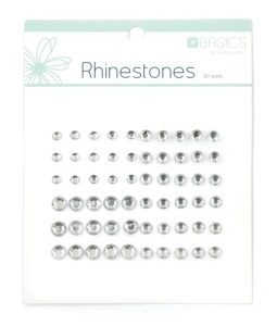 Rhinestones - Silver