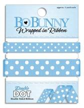 Double Dot Ribbon - Brilliant Blue