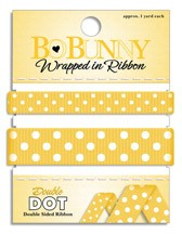 Double Dot Ribbon - Buttercup