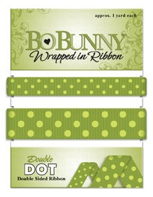 Double Dot Ribbon - Kiwi