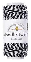 Doodle Twine - Beetle Black