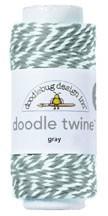 Doodle Twine - Gray