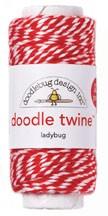 Doodle Twine - Ladybug