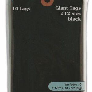 Black Giant Tags No. 12