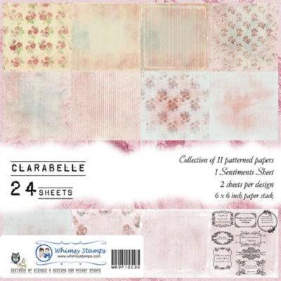 Clarabelle 6x6 Paper Pack