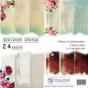 Designer Grunge 6x6 Paper Pack